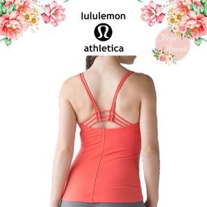 GUC Lululemon Sunset Flow Tank in Cape Red Size 6